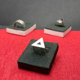 指輪 シルバー925  三角(リング)