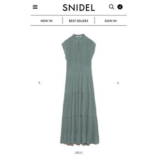 snidel - スナイデル ティアードプリーツワンピース