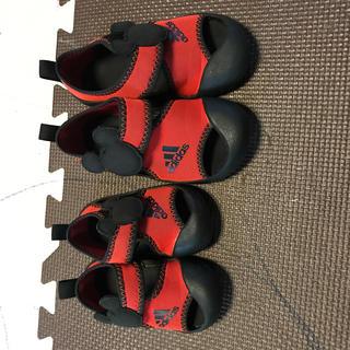 アディダス(adidas)のアディダス 靴 サンダル セット(サンダル)