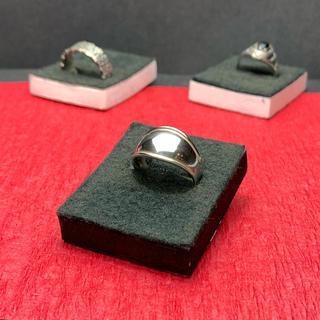 指輪 シルバー925  シンプル(リング)