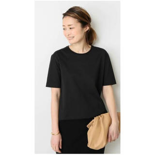 DEUXIEME CLASSE - 新品タグ付!ドゥーズィエムクラス neat Tシャツ ブラック