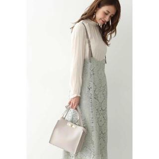 PROPORTION BODY DRESSING - 限定価格 コードレースジャンパースカート ミント グリーン