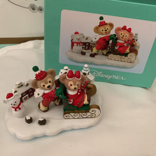 Disney - ダッフィー クリスマス 置き物 フィギア フィギュア