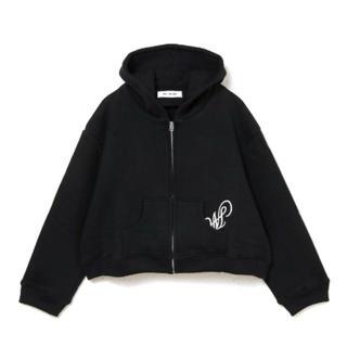 Bubbles - Melt the lady M zip up shrot hoodie