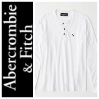 アバクロンビーアンドフィッチ(Abercrombie&Fitch)の◎XL◎新品正規品◎アバクロ◎ヘンリーネックTシャツ◎送料込 (Tシャツ/カットソー(七分/長袖))