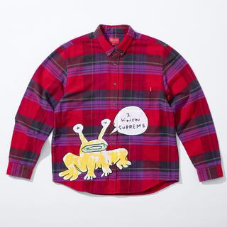 シュプリーム(Supreme)の定価以下!supreme Daniel Johnston plaid shirt(シャツ)