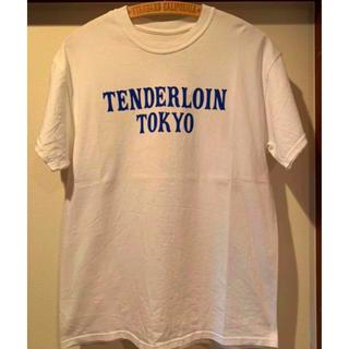 テンダーロイン(TENDERLOIN)のテンダーロイン  本店限定 ロゴ Tシャツ  希少M  激レア(Tシャツ/カットソー(半袖/袖なし))