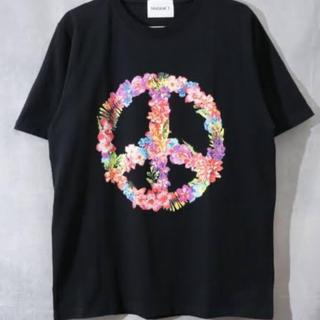 エルエイチピー(LHP)のL.H.P MADDICT マディクト フラワーピースプリントTシャツ Sサイズ(Tシャツ/カットソー(半袖/袖なし))