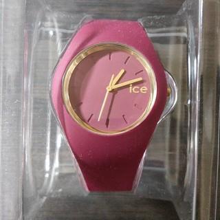 アイスウォッチ(ice watch)のアイスウォッチ ワインレッド40㎜(腕時計(アナログ))