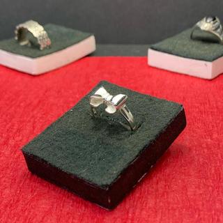 指輪 シルバー925  リボン(リング)