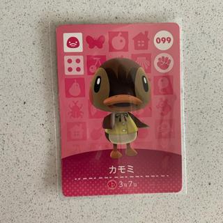 ニンテンドウ(任天堂)のあつ森 どうぶつの森 amiibo カード カモミ(カード)