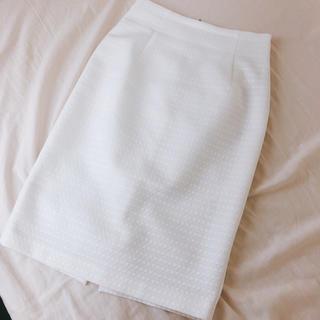 Loungedress - ラウンジドレス タイトスカート 白 ホワイト 春夏