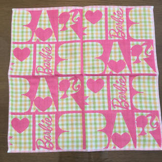 バービー(Barbie)のBarbie バービー ハンドタオル 新品未使用 (ハンカチ)