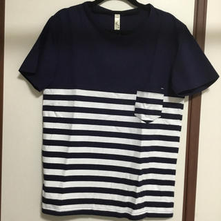 【新品】ボーダーTシャツ L