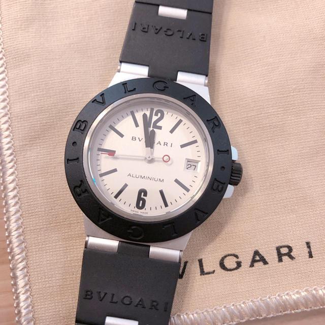 BVLGARI(ブルガリ)のゆいゆい様専用 ブルガリ アルミニウム AL 38TA 自動巻き メンズの時計(腕時計(アナログ))の商品写真