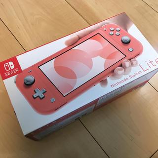 Nintendo Switch - 任天堂Switch コーラル 新品未使用品