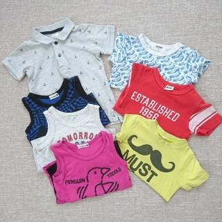 ブランシェス(Branshes)の90  Tシャツ  タンクトップ ポロシャツ  まとめ売り 男の子(Tシャツ/カットソー)