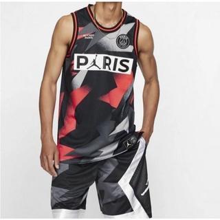 ナイキ(NIKE)のJordan Paris Saint Germain Mesh Jersey S(タンクトップ)