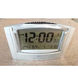 デジタル置き時計 電波時計 卓上 (置時計)