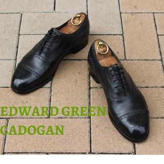 EDWARD GREEN - 【5月いっぱい】エドワードグリーンカドガンUK7E#202セミブローグの決定版