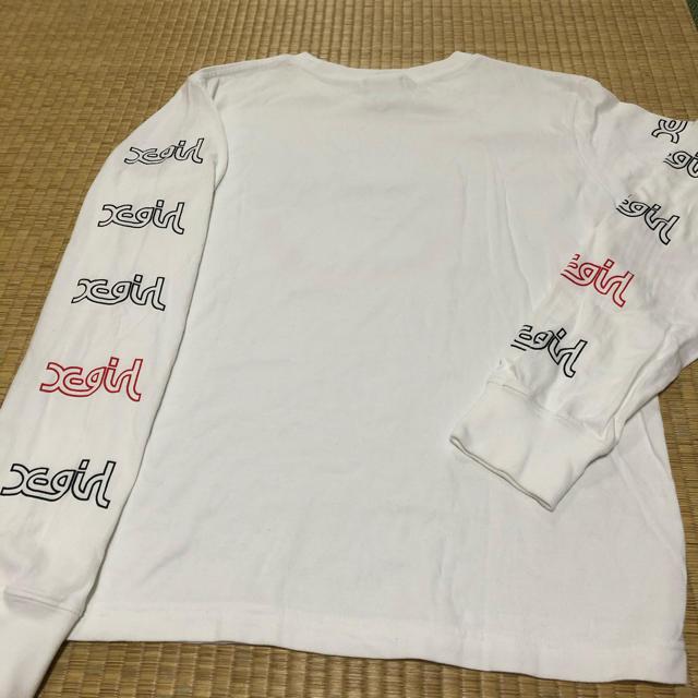 X-girl(エックスガール)のX-girl エックスガール Tシャツ、ロンT レディースのトップス(Tシャツ(長袖/七分))の商品写真
