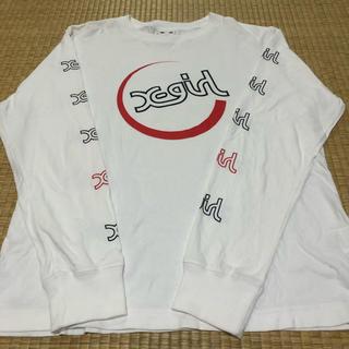 X-girl - X-girl エックスガール Tシャツ、ロンT