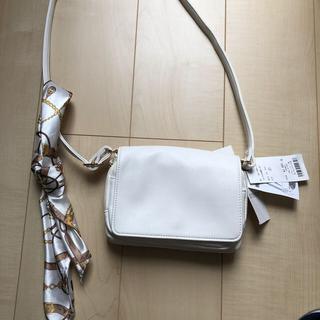 WEGO - WEGO  スカーフ付 肩がけショルダーバッグ 未使用品