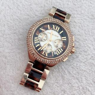 Michael Kors - マイケルコークス♡べっこう柄腕時計