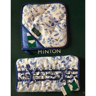 ミントン(MINTON)の新品【Mintonティッシュカバー 鍋敷き2点セット】(ティッシュボックス)
