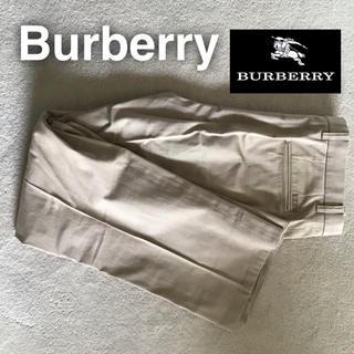 バーバリー(BURBERRY)のBurberry ダブルタックチノパン ウエスト79(チノパン)