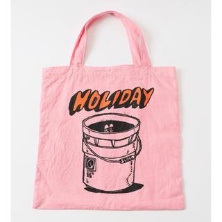 ホリデイ(holiday)の美品★ 人気カラー★ HOLIDAY トートバッグ(トートバッグ)
