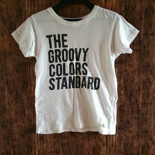グルービーカラーズ(Groovy Colors)のグルービーカラーズ Tシャツ ホワイト 白 140(Tシャツ/カットソー)