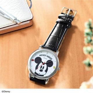 ミッキーマウス - ミッキーマウス 大人腕時計 steady 付録