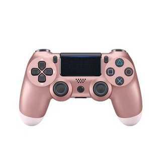PS4 ワイヤレスコントローラー ローズゴールド 桃金色(その他)