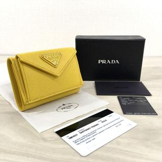 PRADA - 未使用品 PRADA コンパクトウォレット 三つ折り財布 224