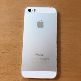 アイフォーン(iPhone)のiphone 5s シルバー 16g au(スマートフォン本体)