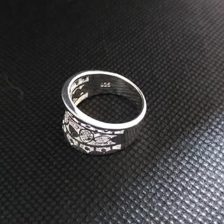 ②存在感抜群 silver刻印あり(リング(指輪))