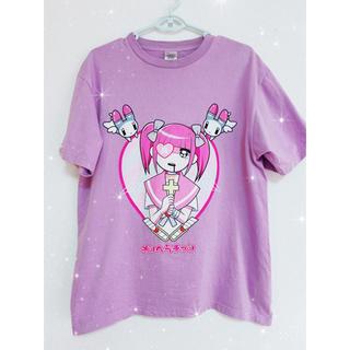 エーシーディーシーラグ(ACDC RAG)のメンヘラチャン♡ゆめかわいい Tシャツ(Tシャツ(半袖/袖なし))