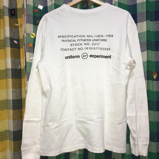 フラグメント(FRAGMENT)のfragment uniform experiment soph 長袖Tシャツ(Tシャツ/カットソー(七分/長袖))