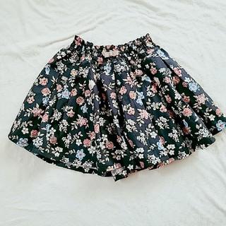 プティマイン(petit main)のプティマイン 花柄キュロットスカート(パンツ/スパッツ)