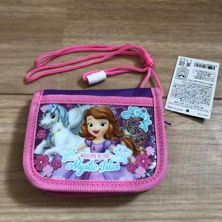 ディズニー(Disney)のキッズ 財布 ソフィア 未使用 女の子(財布)