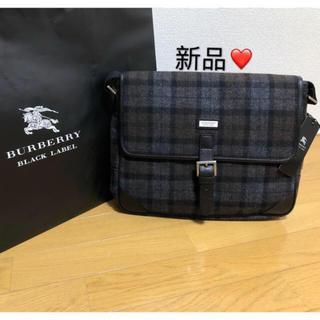 BURBERRY - 新品【日本製】バーバリーブラックレーベル ショルダーバッグ