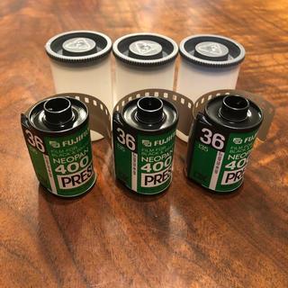 フジフイルム(富士フイルム)の富士フィルム ネオパン 400  35mm  36枚撮り モノクロフィルム 3本(フィルムカメラ)