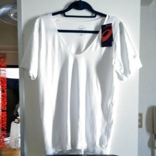 アシックス(asics)の新品 定価5800円 Mサイズ アシックス クール トレーニングシャツ(Tシャツ(半袖/袖なし))