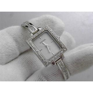 FOSSIL - FOSSIL f2 ブレスレット 腕時計 シルバー ストーン