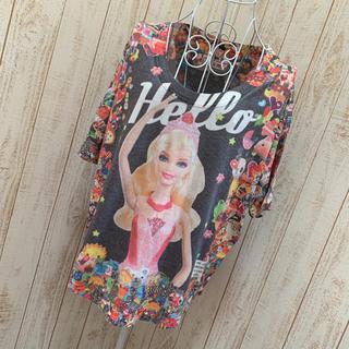 バービー(Barbie)のBarbie トップス(カットソー(半袖/袖なし))