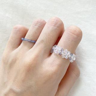 ビーズリング 指輪 韓国 #102(リング)
