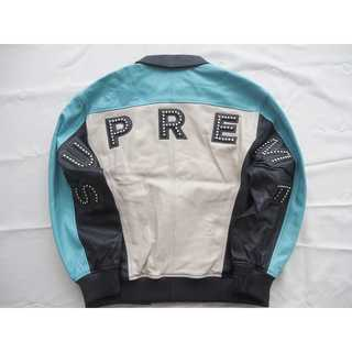 Supreme Studded Arc Logo Leather Jacket