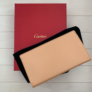 Cartier - 〈カルティエ〉レザーポーチ