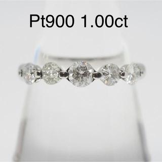 Pt900 プラチナ ダイヤモンドリング 14号(リング(指輪))